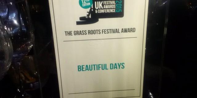Grass Roots Festival Award Winners
