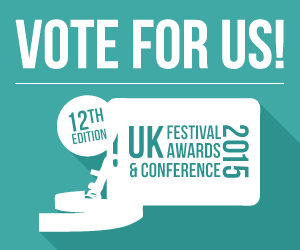 Nominated for 4 UK Festival Awards