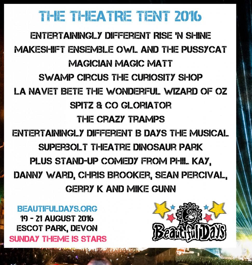 BD2016 The Theatre Tent