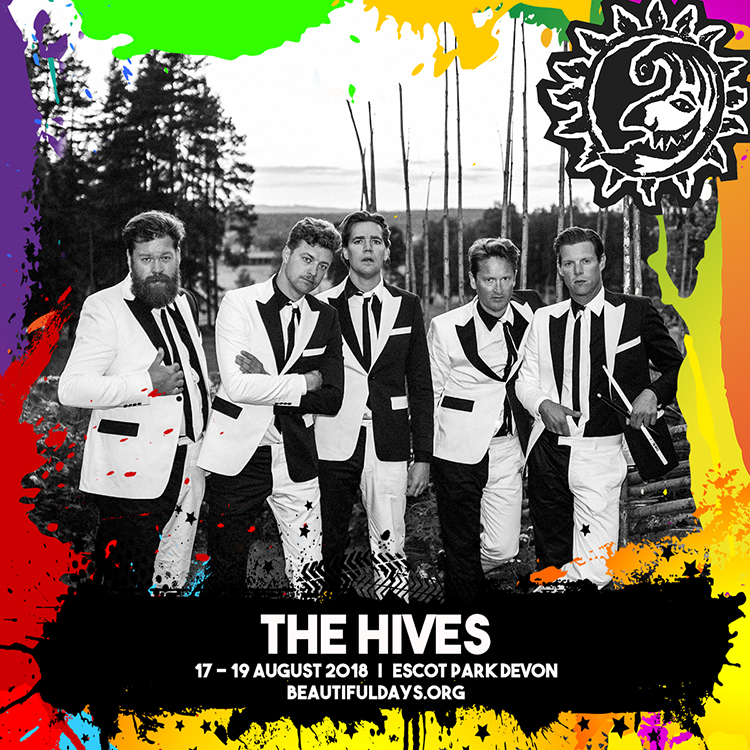 Final announcement: The Hives & more