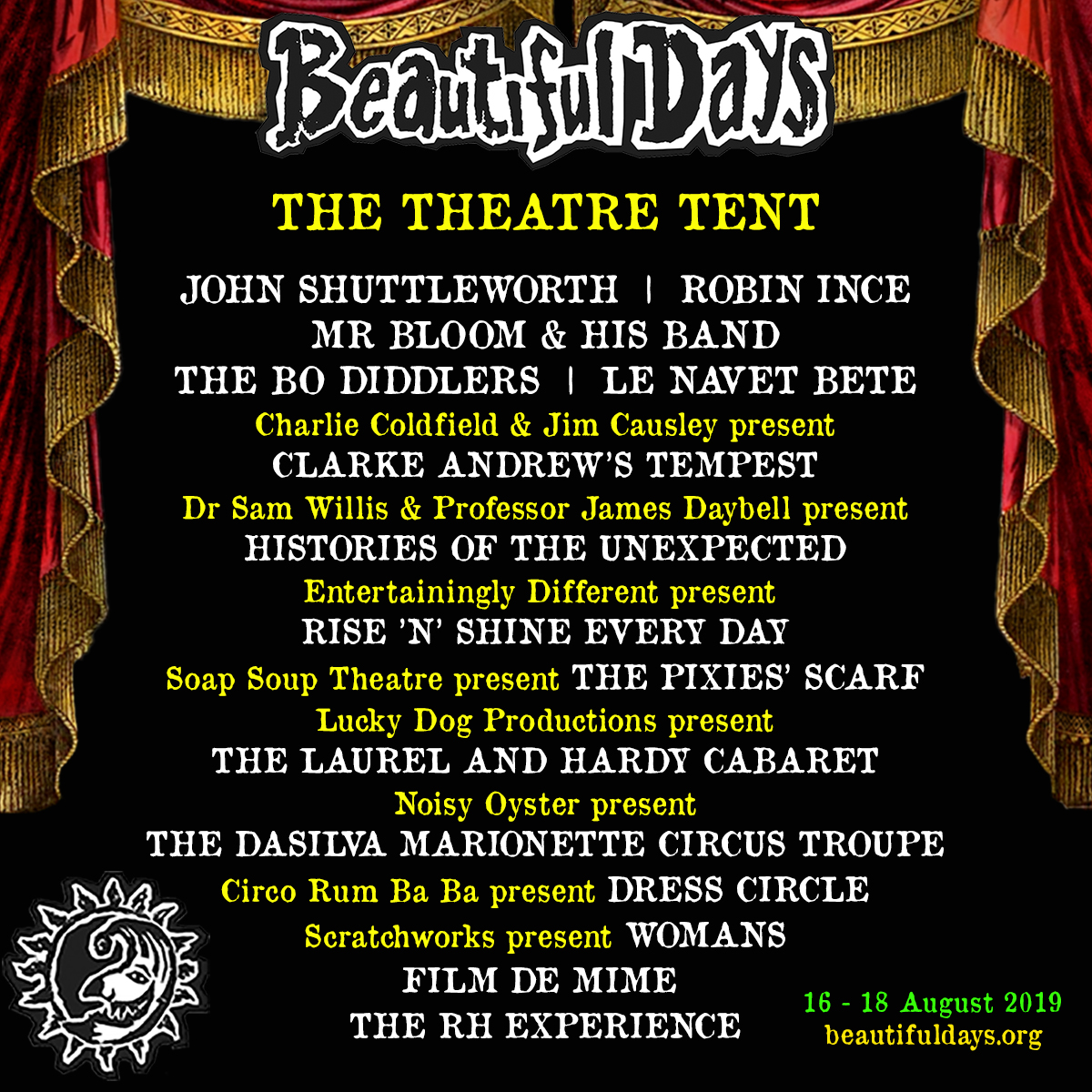 2019 Theatre Tent