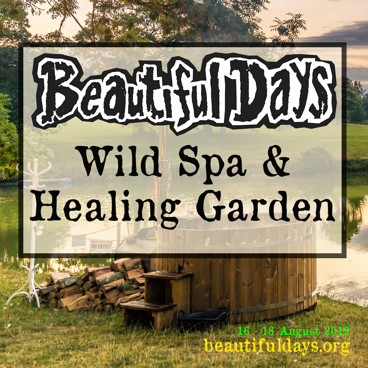 2019 Wild Spa & Healing Garden