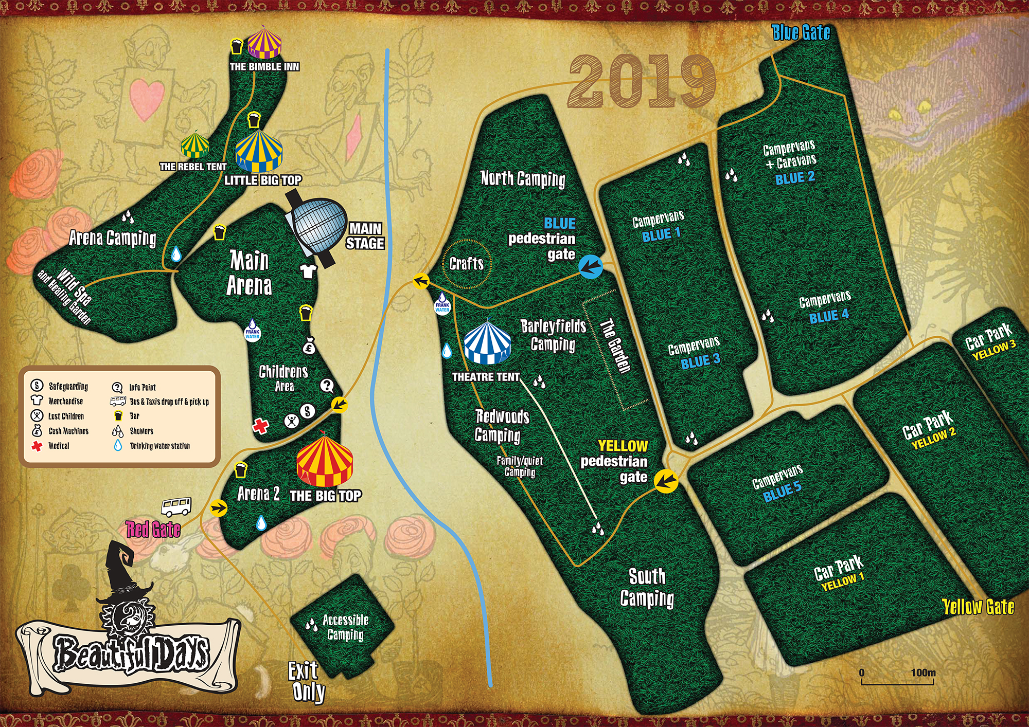 Site Map for BD2019