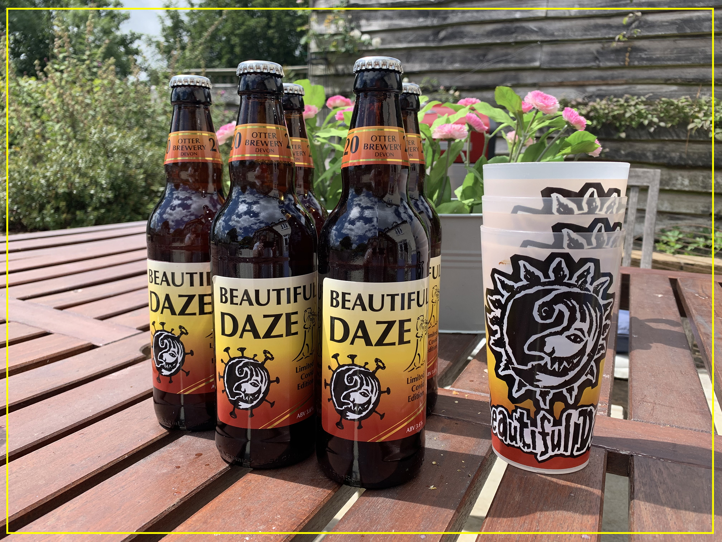 Limited Edition Beautiful Daze Beer